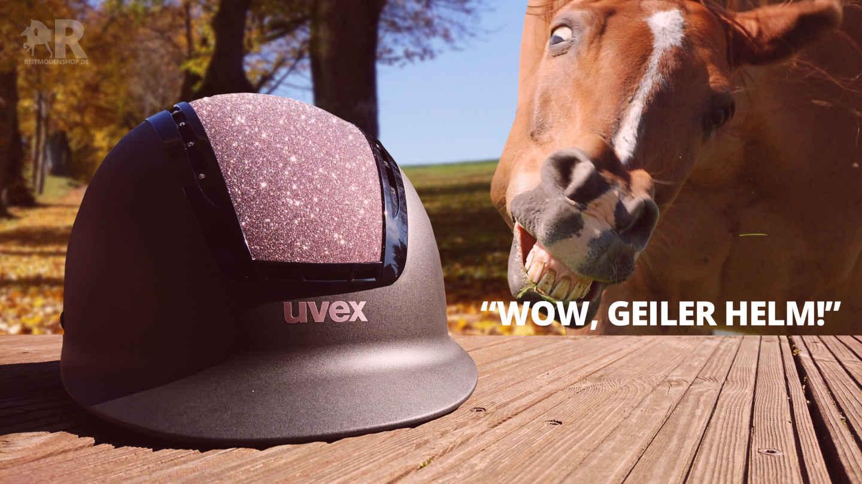 uvex suxxeed starshine | Angebot mit Reithelmtasche
