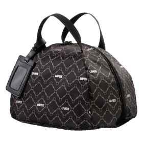 Uvex Helmtasche schwarz-braun